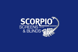 Scorpio Screens and Blinds Logo